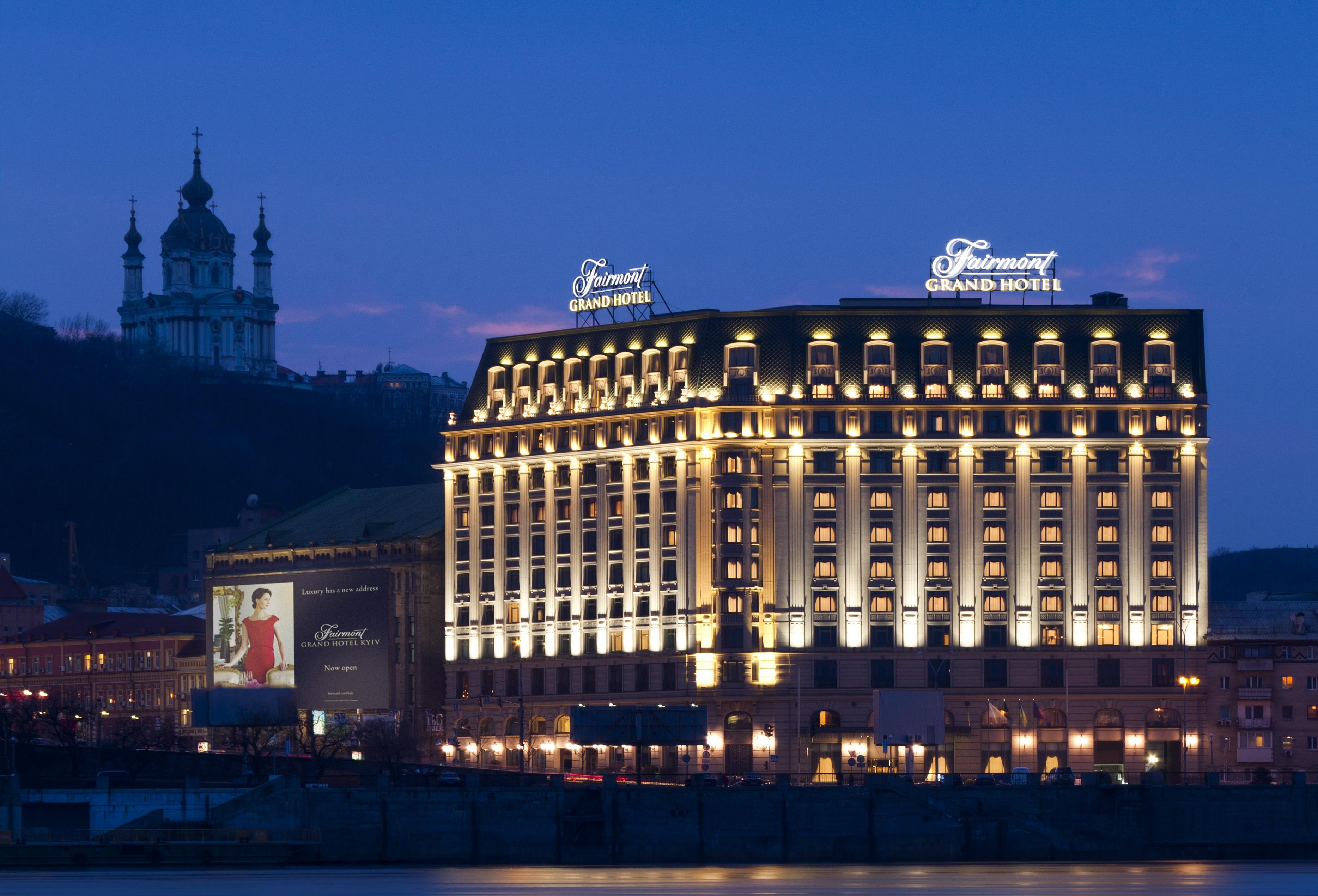 Fairmont Grand Hotel Kyiv Moments